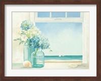 Framed Seaside Hydrangea