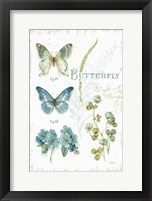 My Greenhouse Botanical Butterfly Framed Print