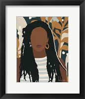 Framed Modern Woman I