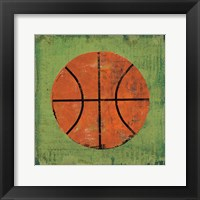 Ball II Green Framed Print