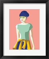 Framed Summer Girl IV