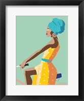 Summer Girl II Framed Print