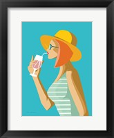 Summer Girl I Framed Print