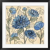 Spring Lace Floral III Framed Print