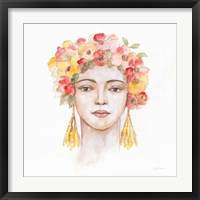 International Woman IV Framed Print