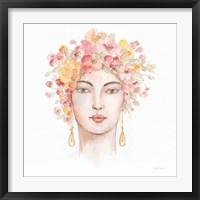 International Woman III Framed Print