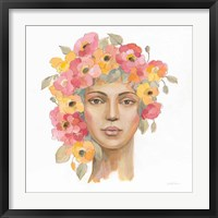 International Woman I Framed Print