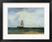 Framed Fishing upon the Blythe Sand, Tide Setting In, 1809