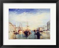 Framed Venice, from the Porch of the Madonna della Salute, c1835