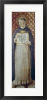 Framed St Thomas Aquinas, Mid 15th Century