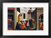 Framed Vocation of St Nicholas, 1437