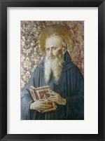 Framed St Jerome, Mid 15th Century