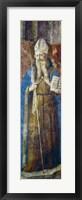 Framed St John Chrysostom, Mid 15th Century
