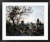 Framed Tower of Chevalot in the Evening, 1885
