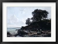 Framed Laundrette at Low Tide, 1891