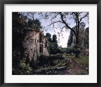 Framed Bastion of the Elms, 1884