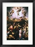 Framed Transfiguration, c1519-1520