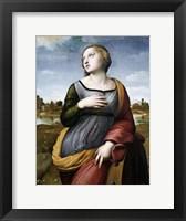 Framed Saint Catherine of Alexandria, c1507