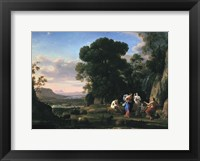 Framed Judgement of Paris (1645-1646)