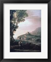 Framed Pastoral Landscape, c1620-1682