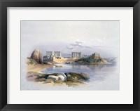 Framed Philae, 1838