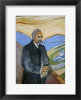 Framed Friedrich Nietzsche, 1906