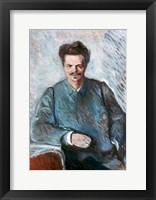 Framed August Strindberg, 1892