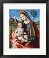 Framed Madonna and Child, c1510