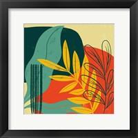 Mid Century Modern II Framed Print