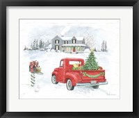 Framed Farmhouse Holidays VI Truck