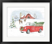 Framed Farmhouse Holidays V Truck
