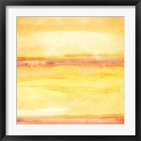 Golden Sands III Framed Print