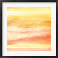 Golden Sands II Framed Print