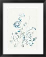 Malmo Garden III Linen Framed Print