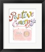 Retro Vibes I Framed Print