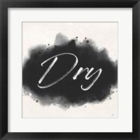 Laundry Splash II Framed Print