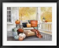 Framed October Porch