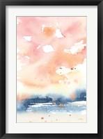 Sunrise Seascape II Framed Print