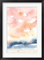 Framed Sunrise Seascape II