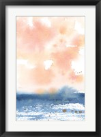 Framed Sunrise Seascape I