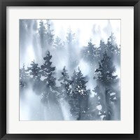 Misty Forest I Framed Print