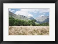 Framed Scottish Highlands III