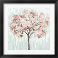 Framed Blooming Tree Blush Crop