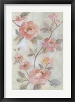 Romantic Spring Flowers I Framed Print