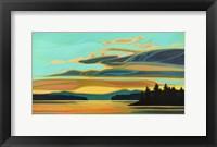 Framed Cobalt Coast