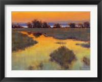 Framed When the Sun Paints the Sky