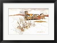 Framed Winter Settles In