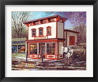 Framed Old Post Office