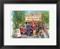 Framed Fire Brigade