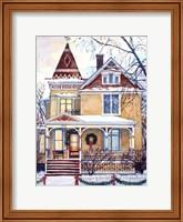 Framed Victorian Christmas